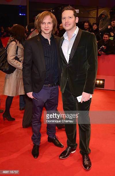 Marco Kreuzpaintner and guest attend the 'Nymphomaniac Volume I ' premiere during 64th Berlinale International Film Festival at Berlinale Palast on...