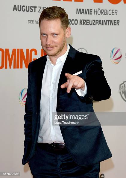 Marco Kreuzpaintner attends the 'Coming In' Premiere at Cinemaxx on October 22 2014 in Berlin Germany