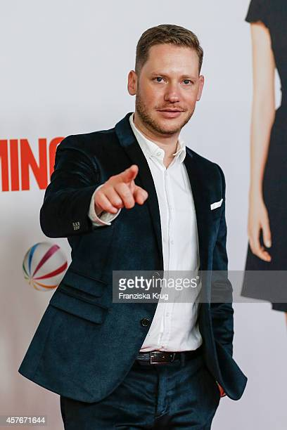 Marco Kreuzpaintner attends the 'Coming In' Premiere in Berlin on October 22 2014 in Berlin Germany