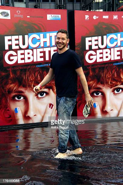 Marco Kreuzpaintner attends the 'Feuchtgebiete' Germany premiere at Sony Centre on August 13 2013 in Berlin Germany