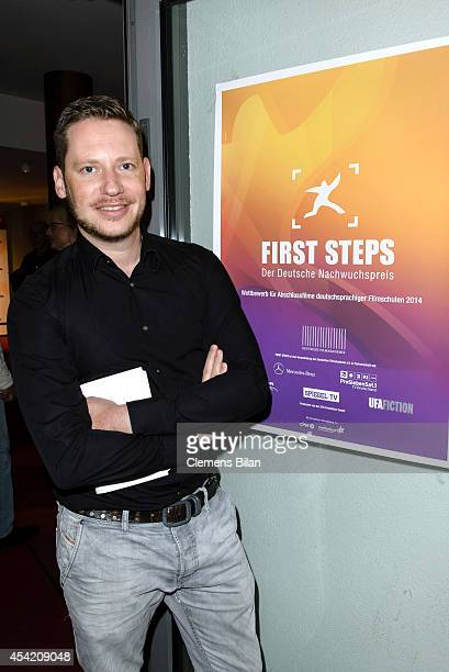 Marco Kreuzpaintner attends the First Steps Award 2014 Nominations on August 26 2014 in Berlin Germany
