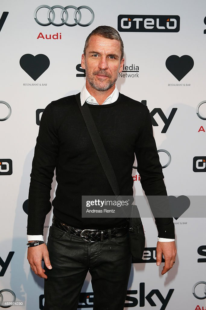Marco Kurz attends the SKY Media Network Bundesliga season opening party at Heart on August 22 2014 in Munich Germany