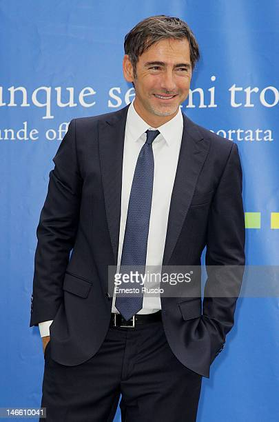 Marco Liorni attends the Palinsesti Rai photocall at Cavalieri Hilton Hotel on June 20 2012 in Rome Italy