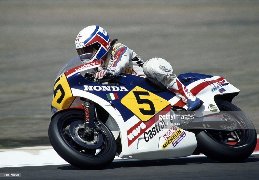 marco lucchinelli - honda motorcycle pictures   getty images