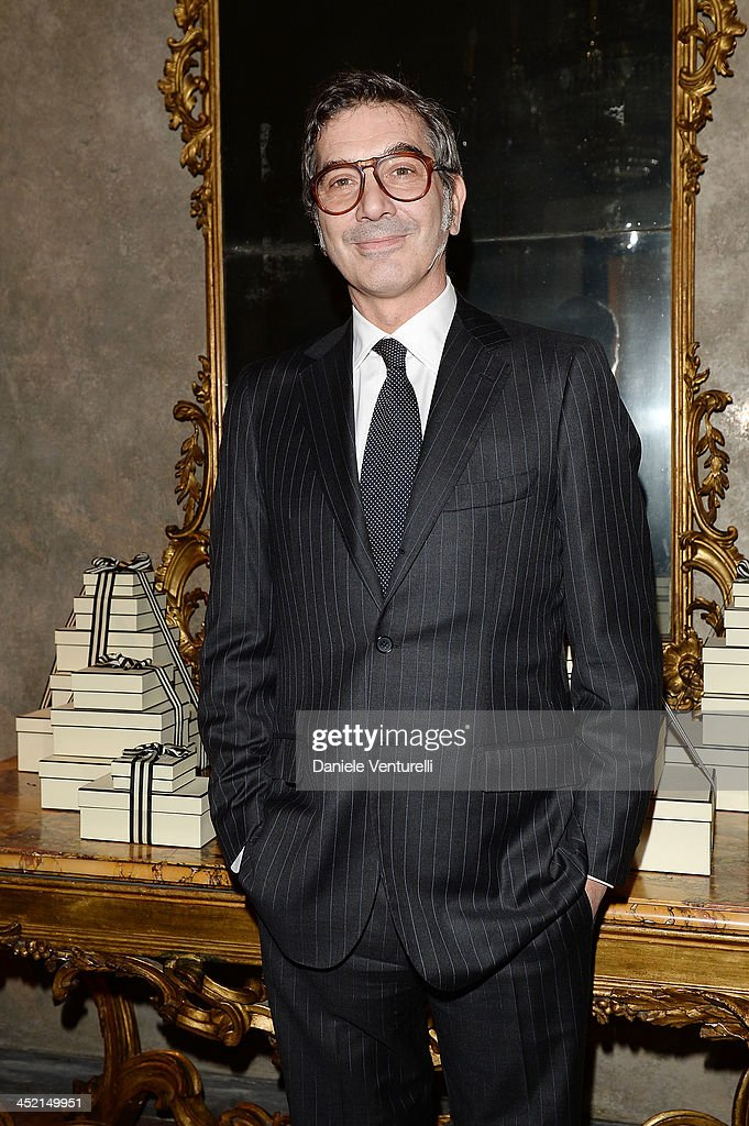Marco Maccapani attends the 'Jo Malone London Scented' Dinner at Palazzo Crespi on November 26, 2013 in Milan, Italy.