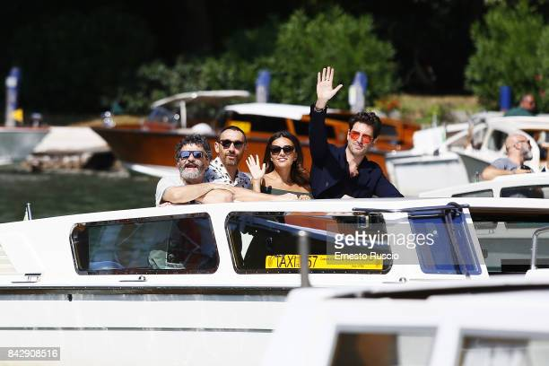 Marco Manetti Antonio Manetti Giampaolo Morelli and Serena Rossi are seen during the 74th Venice Film Festival on September 5 2017 in Venice Italy