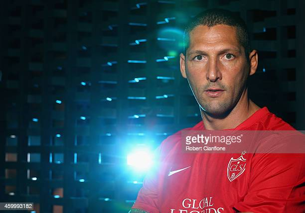 Marco Materazzi poses during a Global Legends Series portrait session at the Swissotel on December 5 2014 in Bangkok Thailand