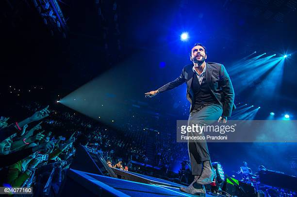 Marco Mengoni performs at Mediolanum Forum onstage on November 17 2016 in Milan Italy