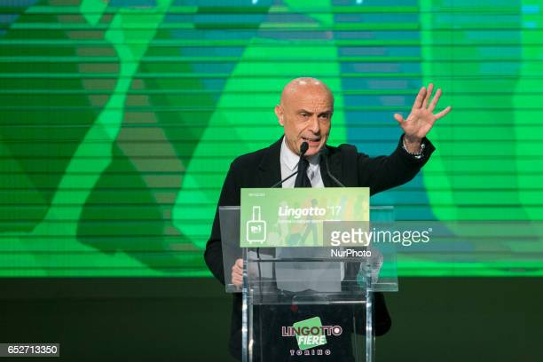 Marco Minniti speaks at Lingotto17 event to support Matteo Renzi He is the Minister of the Interior since 12 December 2016 The former Prime Minister...