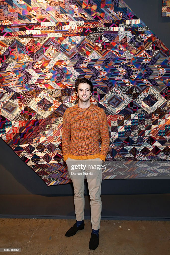 Marco Missoni attends the Missoni Art Colour preview in partnership with Woolmark at The Fashion and Textile Museum on May 4, 2016 in London, England.