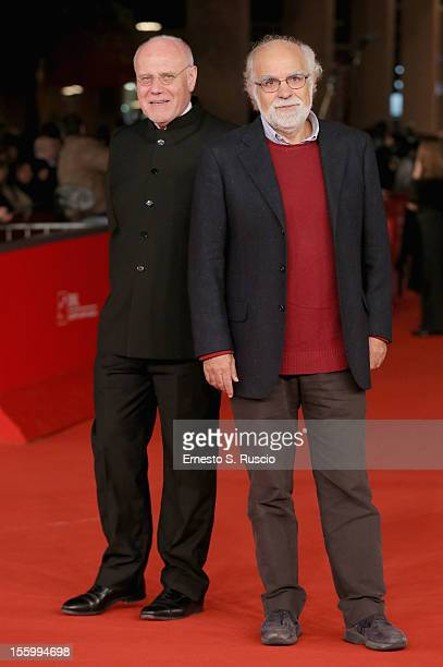 Marco Muller and Stefano Rulli attend the 'Carlo' Premiere during the 7th Rome Film Festival at the Auditorium Parco Della Musica on November 10 2012...
