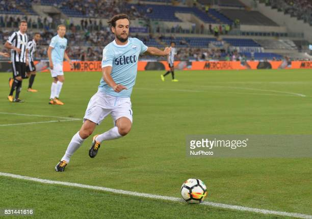Marco Parolo during the Italian SuperCup TIM football match Juventus vs lazio on August 13 2017 at the Olympic stadium in Rome
