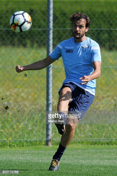 Marco Parolo of SS Lazio during the SS Lazio Training Camp during the on August 1 2017 in Walchsee Austria