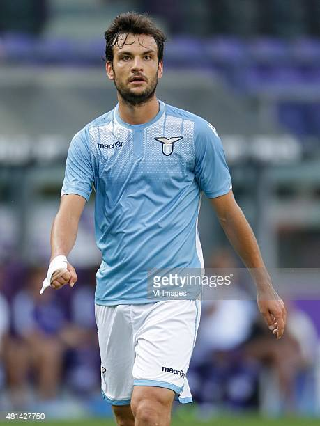 Marco Parolo of SS Lazio Roma during the preseason friendly match between RSC Anderlecht and SS Lazio Roma on July 19 2015 at the Constant Vanden...