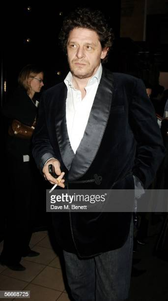 Marco Pierre White attends the relaunch party celebrating the opening of the latest branch of Marco PierreWhite and Frankie Dettori's restaurant...
