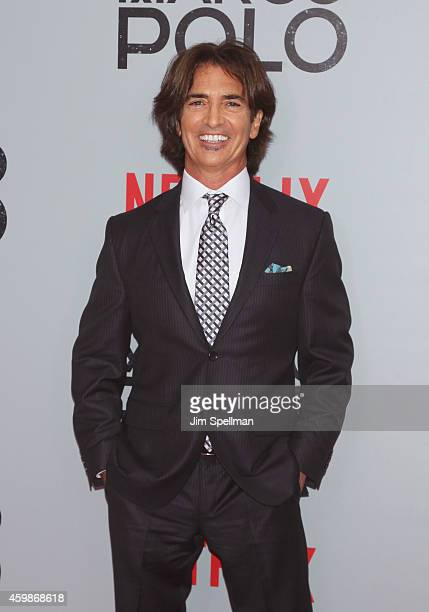 Marco Polo creator and executive producer John Fusco attends the 'Marco Polo' New York series premiere at AMC Lincoln Square Theater on December 2...