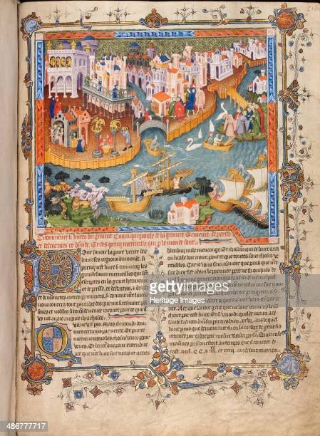 Marco Polos departure from Venice in 1271 ca 1400 Artist Anonymous