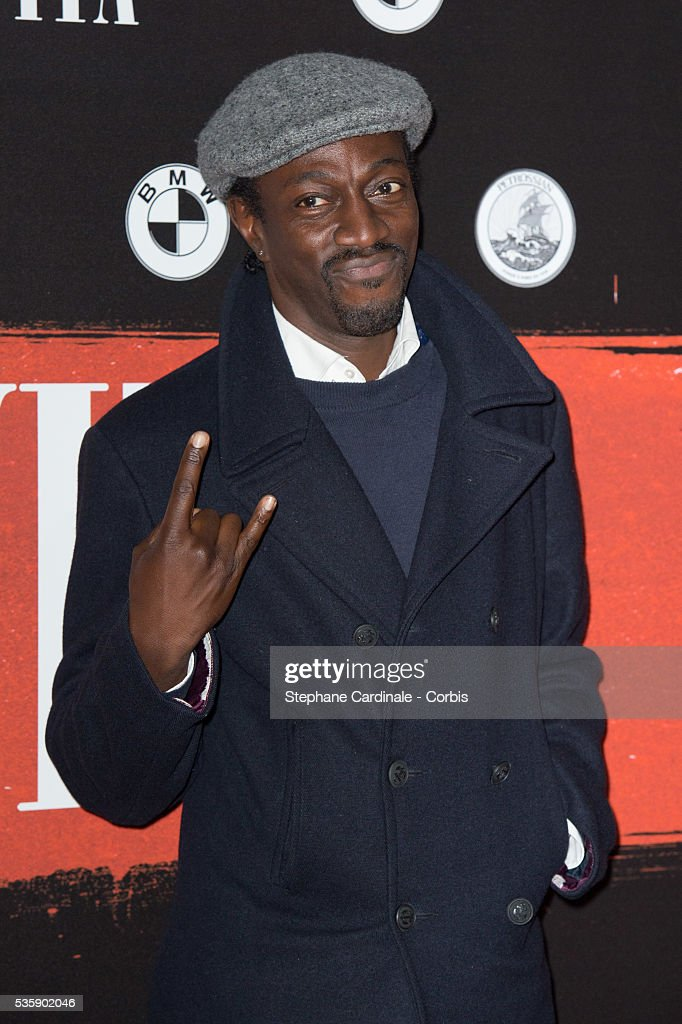 Marco Prince attends the 'Malavita' premiere at Europacorp Cinemas at Aeroville Shopping Center, in Roissy-en-France, France.