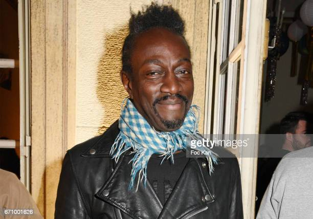 Marco Prince from FFF band attends 'Tonic Follies' Villa Schweppes Before Cannes Festival Party at Foundation Mona Bismarck on April 20 2017 in Paris...