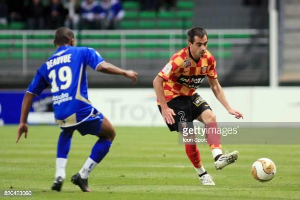 Marco RAMOS Troyes / Lens 7eme journee de Ligue 2