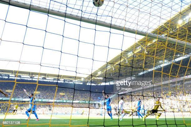 Marco Reus of Dortmund v during the Bundesliga match between Borussia Dortmund and TSG 1899 Hoffenheim at Signal Iduna Park on May 6 2017 in Dortmund...