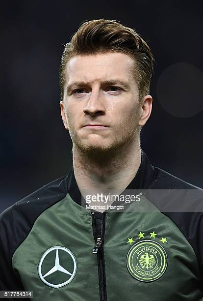Marco Reus of Germany poses prior to the International Friendly match between Germany and England at Olympiastadion on March 26 2016 in Berlin Germany