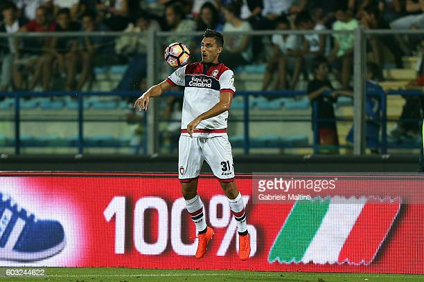 Marco Sampirisi of FC Crotone in action during the Serie A match between Empoli FC and FC Crotone at Stadio Carlo Castellani on September 12 2016 in...