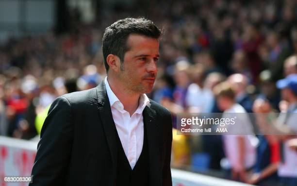 Marco Silva Manager / head coach of Hull City during the Premier League match between Crystal Palace and Hull City at Selhurst Park on May 14 2017 in...