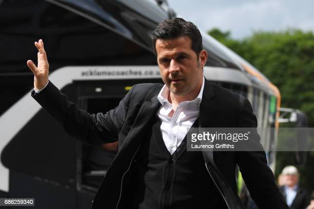 Marco Silva Manager of Hull City arrives at the stadium prior to the Premier League match between Hull City and Tottenham Hotspur at the KC Stadium...
