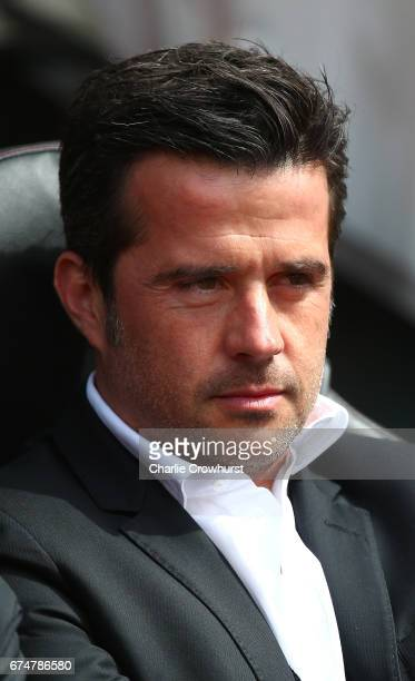 Marco Silva Manager of Hull City looks on prior to the Premier League match between Southampton and Hull City at St Mary's Stadium on April 29 2017...