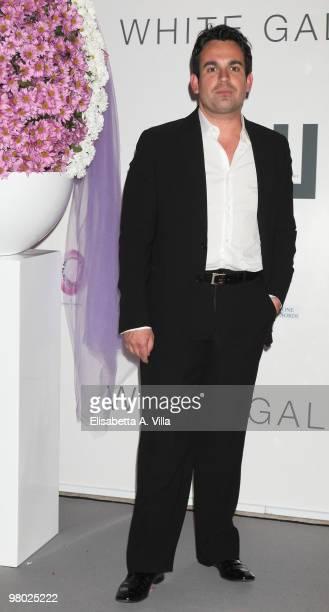 Marco Simeon attends 'L'Arte Nell'Uovo Di Pasqua' Charity Event at the White Gallery on March 24 2010 in Rome Italy