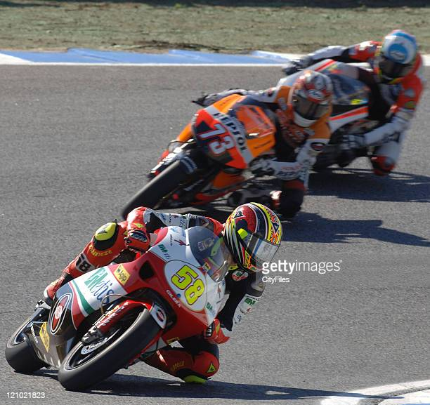 Marco Simoncelli during the Estoril Moto Grand Prix 2006 Free Training Session in Lisbon Portugal on October 13 2006
