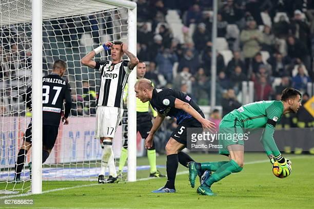 Marco Sportiello of Atalanta in action during the Serie A football match between Juventus FC and Atalanta Bergamasca Calcio Juventus FC wins 31 over...