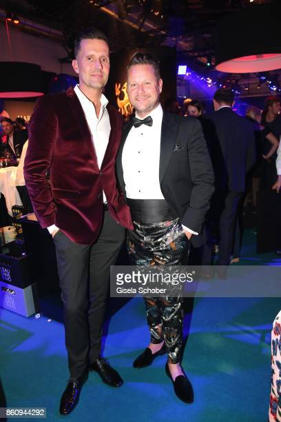Marco Stein and Bastian Ammelounx during the 'Tribute To Bambi' gala at Station on October 5 2017 in Berlin Germany