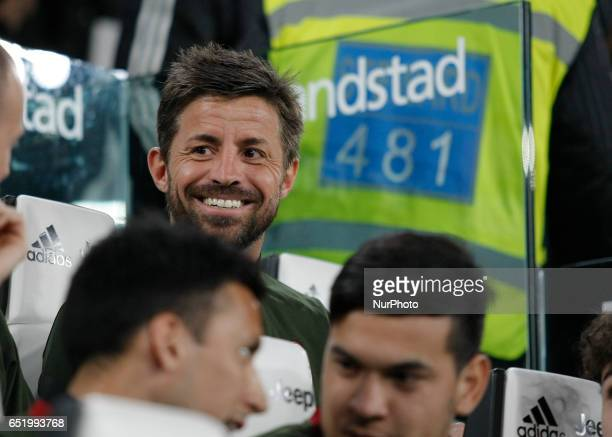 Marco Storari during Serie A match between Juventus v Milan in Turin on March 10 2017