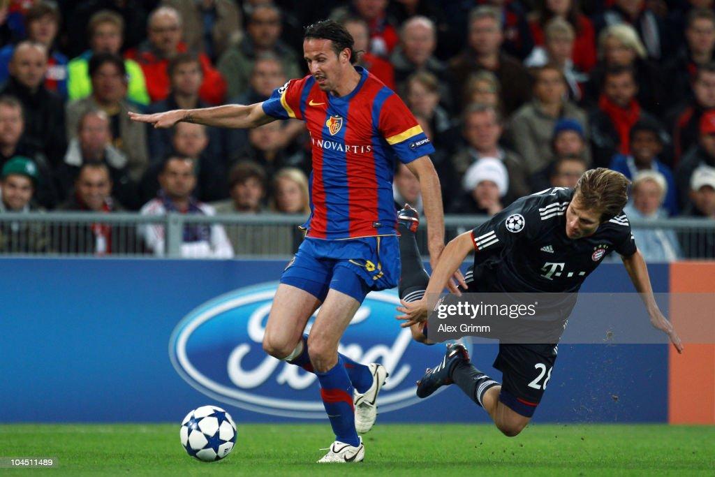 FC Basel v FC Bayern Muenchen - UEFA Champions League