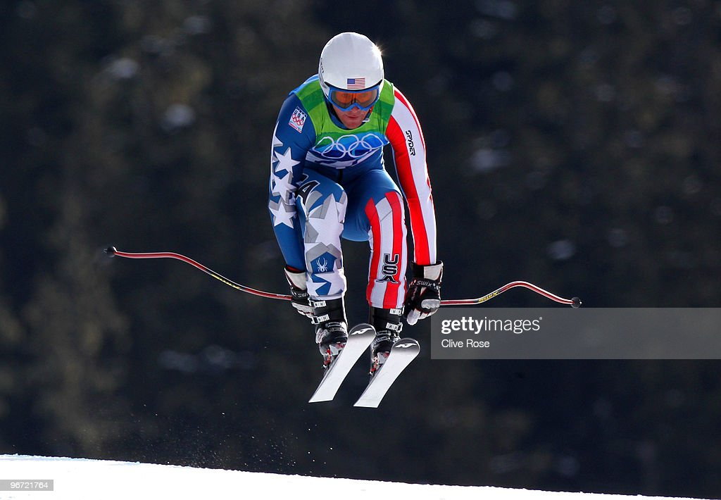 <a gi-track='captionPersonalityLinkClicked' href=/galleries/search?phrase=Marco+Sullivan&family=editorial&specificpeople=824240 ng-click='$event.stopPropagation()'>Marco Sullivan</a> of the United States competes in the Alpine skiing Men's Downhill at Whistler Creekside during the Vancouver 2010 Winter Olympics on February 15, 2010 in Whistler, Canada.