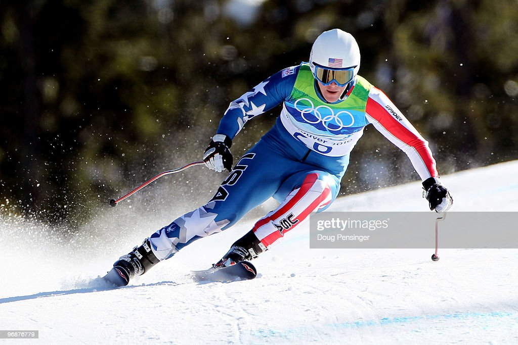 <a gi-track='captionPersonalityLinkClicked' href=/galleries/search?phrase=Marco+Sullivan&family=editorial&specificpeople=824240 ng-click='$event.stopPropagation()'>Marco Sullivan</a> of the United States competes in the men's alpine skiing Super-G on day 8 of the Vancouver 2010 Winter Olympics at Whistler Creekside on February 19, 2010 in Whistler, Canada.