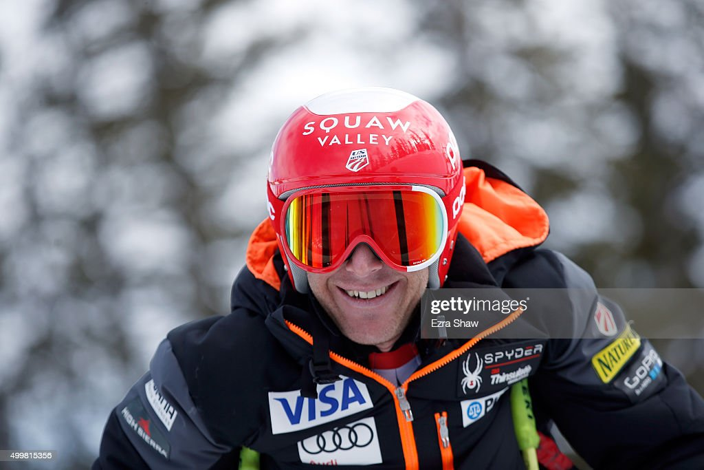 <a gi-track='captionPersonalityLinkClicked' href=/galleries/search?phrase=Marco+Sullivan&family=editorial&specificpeople=824240 ng-click='$event.stopPropagation()'>Marco Sullivan</a> of the United States prepares for the start of a downhill training run for the Audi FIS Ski World Cup on the Birds of Prey on December 3, 2015 in Beaver Creek, Colorado.