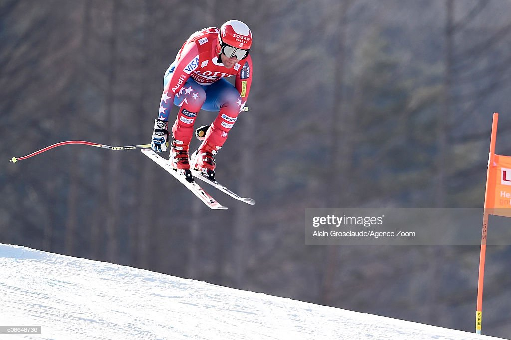 <a gi-track='captionPersonalityLinkClicked' href=/galleries/search?phrase=Marco+Sullivan&family=editorial&specificpeople=824240 ng-click='$event.stopPropagation()'>Marco Sullivan</a> of the USA competes during the Audi FIS Alpine Ski World Cup Men's Downhill on January 06, 2016 in Jeongseon, South Korea.