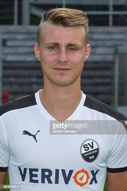 Marco Thiede poses during SV Sandhausen Team Presentation on June 26 2015 in Sandhausen Germany