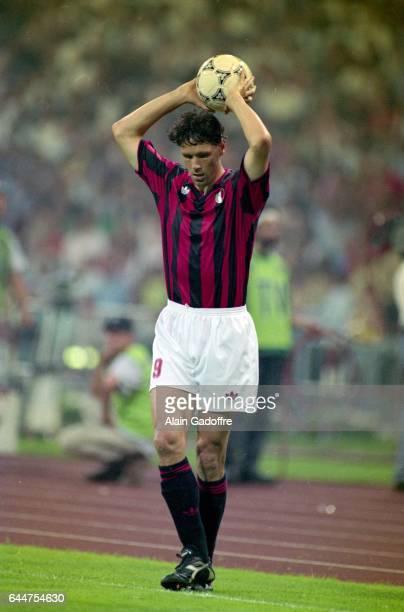 Marco Van Basten Marseille / Milan AC Finale Ligue des Champions 1993 Munich Photo Alain Gadoffre / Icon Sport