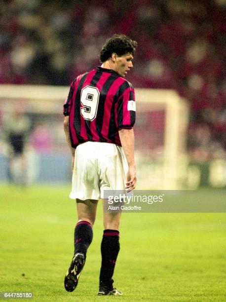 Marco Van Basten Marseille / Milan AC Finale Ligue des Champions 1993 Munich‿Photo Alain Gadoffre / Icon Sport