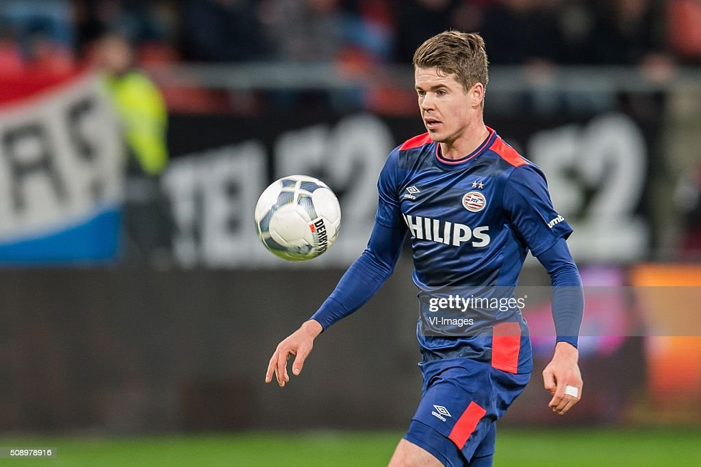 Marco van Ginkel of PSV during the Dutch Eredivisie match between FC Utrecht and PSV Eindhoven at the Galgenwaard Stadium on February 07, 2016 in Utrecht, The Netherlands