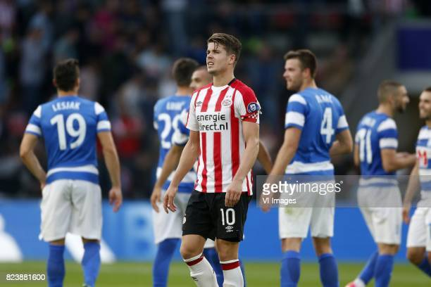 Marco van Ginkel of PSV during the UEFA Europa League third qualifying round first leg match between PSV Eindhoven and Osijek at Philips Stadium on...
