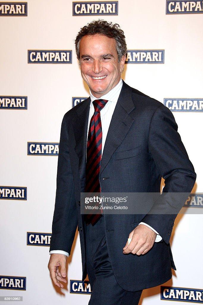 Marco Vittorelli attends the Club Campari, 2009 Campari Calendar launch at La Permanente on December 2, 2008 in Milano, Italy.