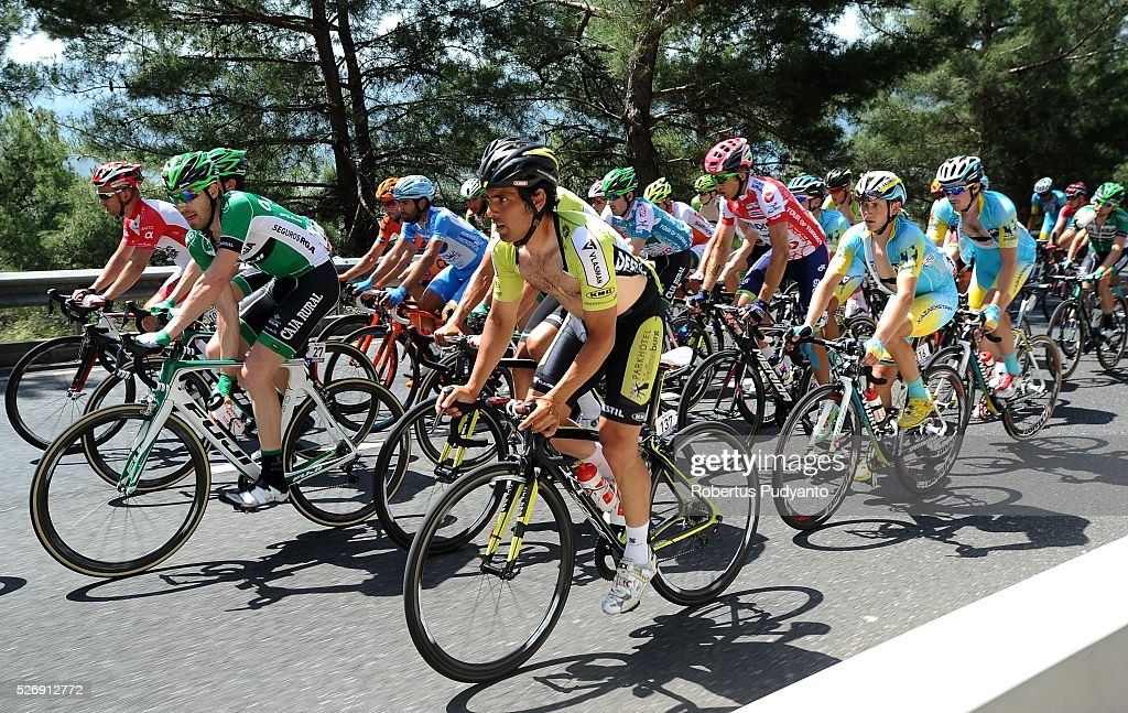 Marco Zanotti of Italy and Parkhotel Valkenburg Continental Team #137 competes during Stage 8 of the 2016 Tour of Turkey, Marmaris to Selcuk (201.5 km) on May 1, 2016 in Marmaris, Turkey.