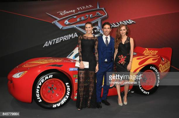 Marco Zappa and guests attend Cars 3 photocall in Milan on September 11 2017 in Milan Italy