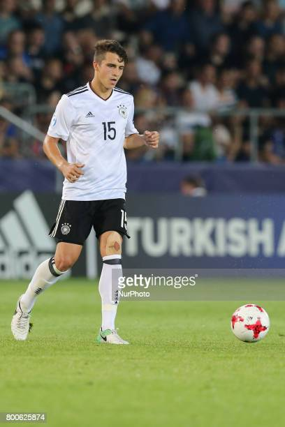 MarcOliver Kempf during the UEFA U21 European Championship Group C football match Italy v Germany in Krakow Poland on June 24 2017