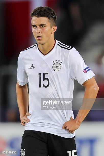 MarcOliver Kempf of Germany looks on during the UEFA European Under21 Championship Group C match between Germany and Denmark at Krakow Stadium on...
